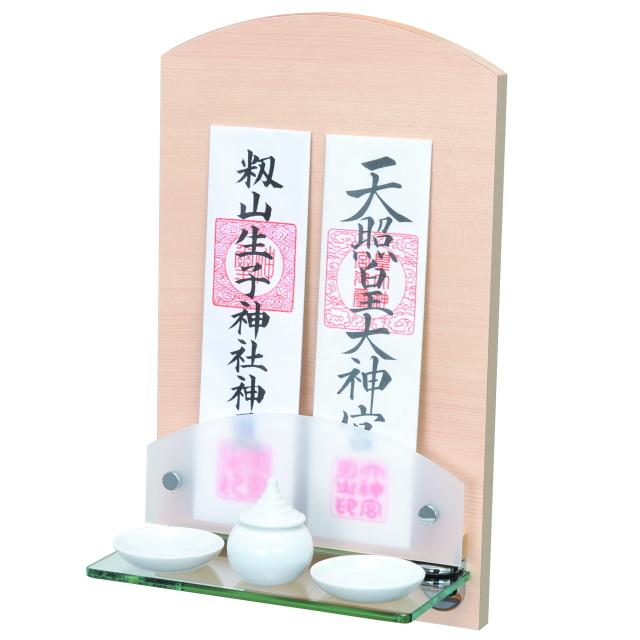 神棚 Neo ミニ ヒノキ 檜 壁掛けタイプ(ミニサイズ)