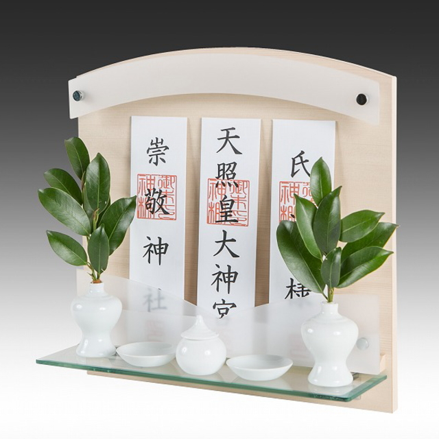 神棚 Neo 410-G ヒノキ 壁掛けタイプ(標準サイズ)
